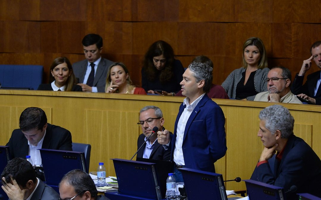 Dívida da região aumenta em 140 milhões: Governo Regional esconde contas de 2016