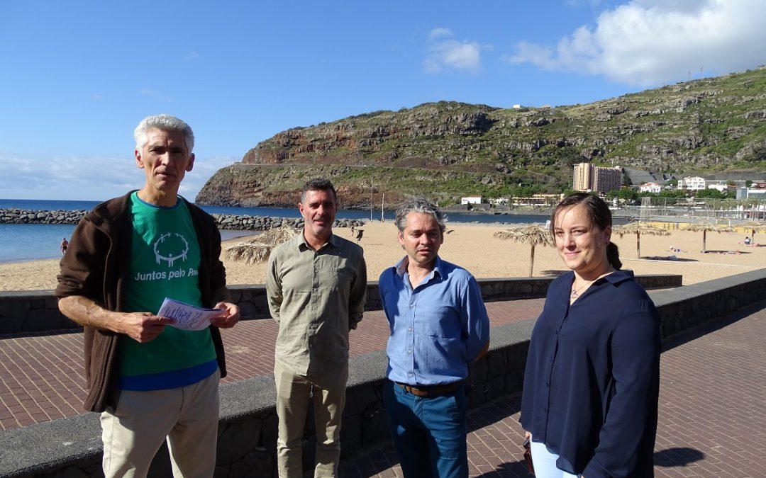 JPP questiona secretaria do Ambiente sobre qualidade das águas balneares em Machico