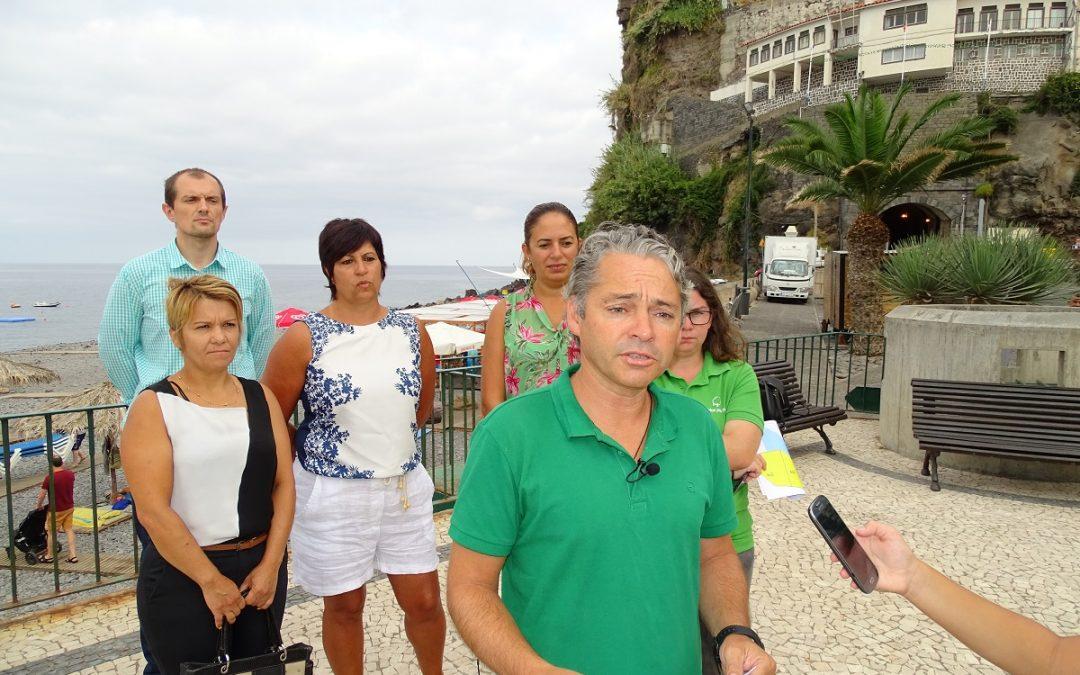 """""""Governo Regional quer 'enjaular' o litoral da Ponta do Sol"""""""