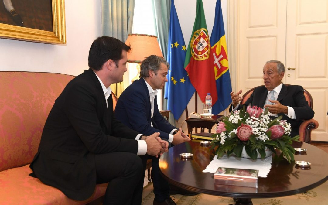 JPP é recebido por Marcelo Rebelo de Sousa
