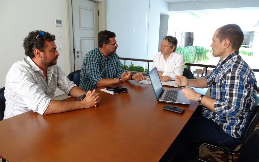 JPP reuniu-se com sindicato dos estivadores