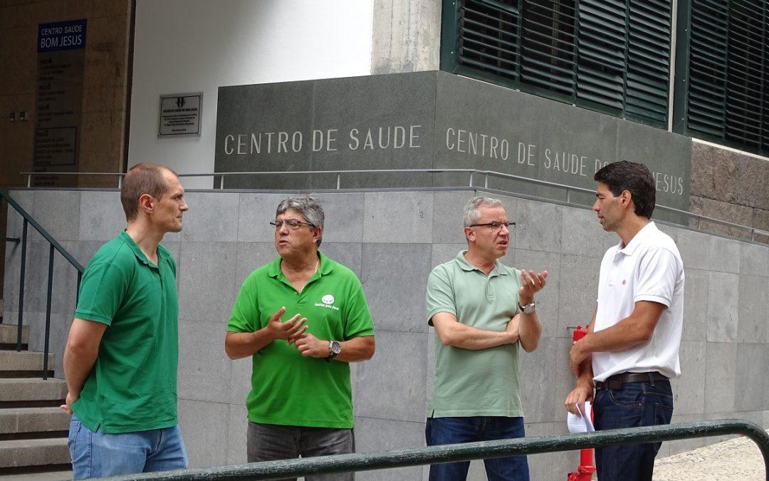 JPP lembra ao PSD que obras nos edifícios não resolvem problema da Saúde