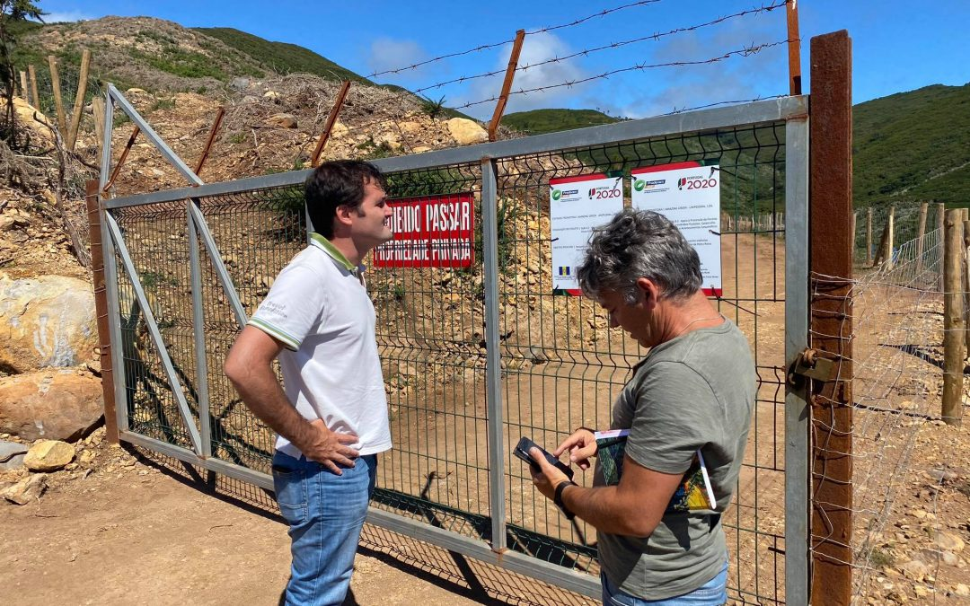 """""""Cheira a esturro""""toda a rede implicada nos projetos apoiados pelo PRODERAM 2020, do Sítio das Pedras Ruivas, Fajã da Ovelha"""