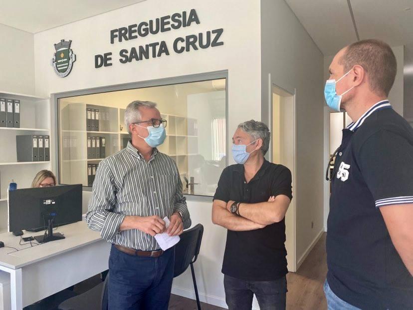 JPP visita novas instalações da Junta de Freguesia de Santa Cruz